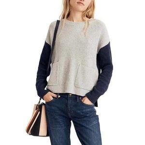 Madewell Boxy Harper Rib Knit Pullover X2